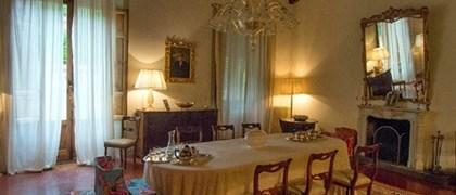 Cena in villa borghese