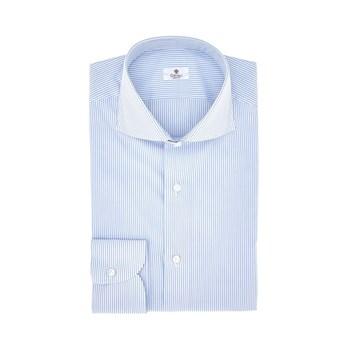 camicia-uomo-popeline-rigato-bianco-celeste