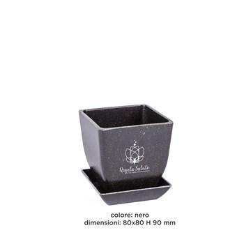 Vaso 80x80 H 90 mm