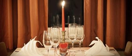 Cena romantica Rendola