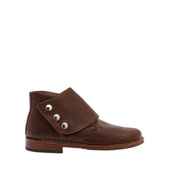 pelletteria-della-nina-scarpe polacchine uomo marrone