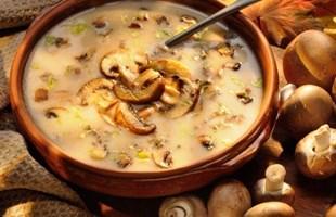 Zuppa di funghi porcini toscana